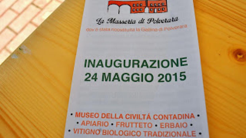 Inauguazione 24 Maggio: un ringraziamento a tutti coloro che hanno partecipato
