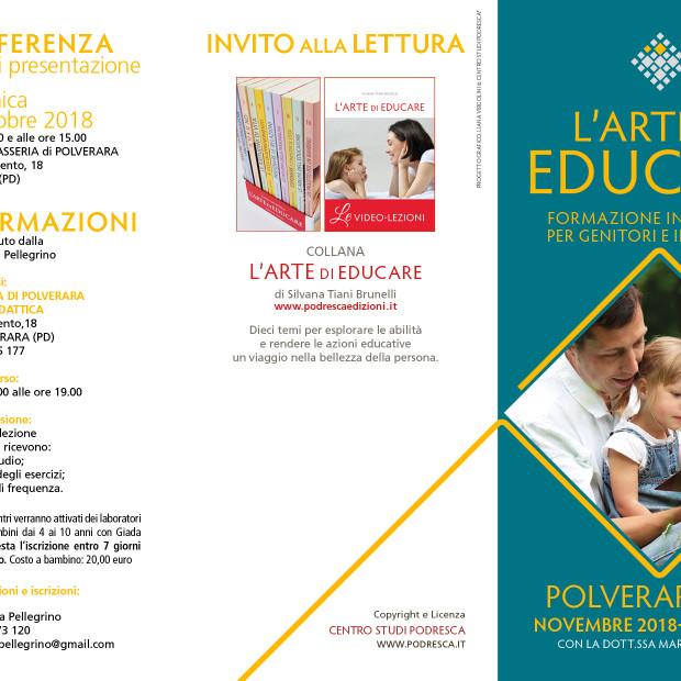 Formazione: L'arte di Educare – a partire dal 24 novembre
