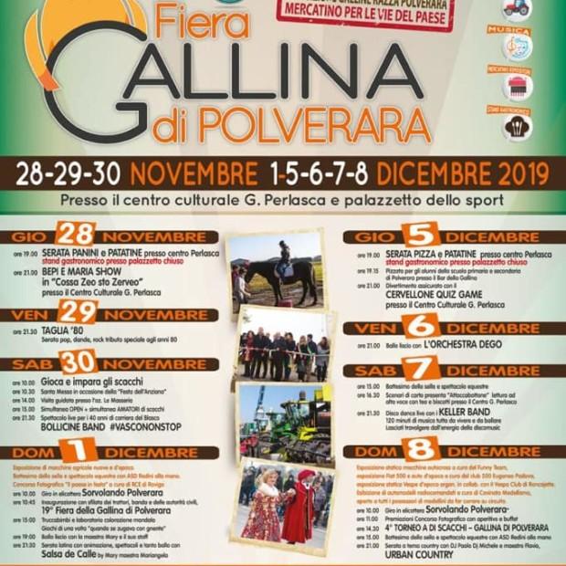 Fiera della Gallina 2019 – Il programma