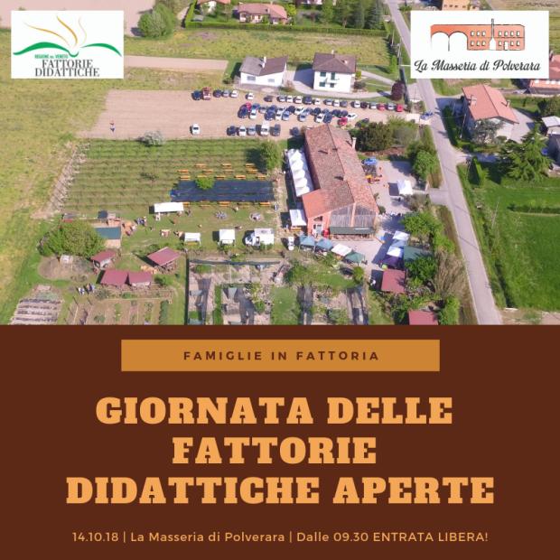 Save the date: Giornata delle fattorie didattiche aperte del Veneto