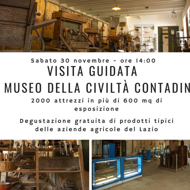 Sabato 30 – ore 14:00: Visita gratuita al museo e degustazione prodotti tipici