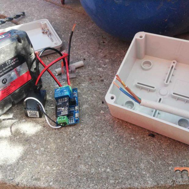 Ortomeraviglia: controllo remoto pompa pozzo DIY